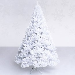 2.4 m   240cm white luxury encryption Christmas tree Christmas living room New Year decorations mall