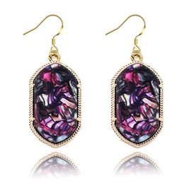Wholesale Kendra Scott Elle Statement Drusy Drop Earrings Dangle Chandelier Ear jewelry