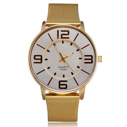 Wholesale New Popular Gold Wrist Watches Stainless Steel Material Best Watches for Men Women mm Fashion Design Watch for