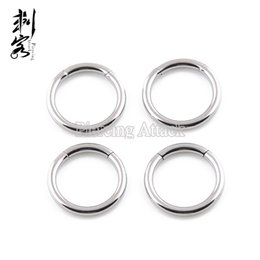 Free Shipping 16G Surgical Steel Segment Ring Steel Captive Ring Body Piercing Jewelry Lot of 20pcs