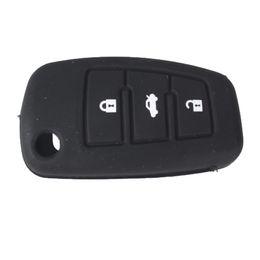 Guaranteed 100% 3Buttons Silicone Car Remote Car Fob Key Case Cover For Audi A6L Q7 TT R8 A3 A4L Free Shipping