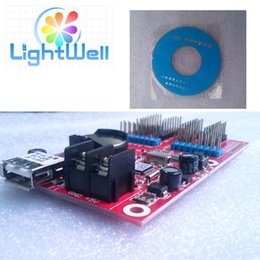 Wholesale 16x32 hot selling p10 led display controller card TF A6U Small U disk for led tv wall screen