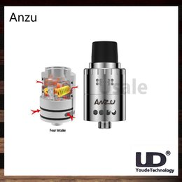 Wholesale UD Youde Anzu RDA Adjustable Dual Airflow Design Massive Clouds and Crisp Flavour Anzu Atomizer With Velocity Style Posts Original