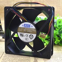 AVC DA12032B48U 12 cm 48V 0.35A 120*120*32 4 wire double ball heat sink fan