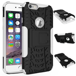 for iPhone 6 6s plus iPhone 7 7 Plus Cell Phone Cases Shockproof Anti-skidding Pc+Tpu iPhone Protecitive Cases Wholesale