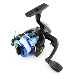 Wholesale fishing tackle Speed Ratio Spinning Fishing Reel line round plastic rod spinning wheel gear wheel Ocean Sea Boat Aluminum wholesal