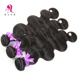 Brazilian Virgin Hair Bundles Good Quality Unprocessed Remy Hair Body Weave Natural Color Human Hair 3 Pcs per Lot Free Shipping