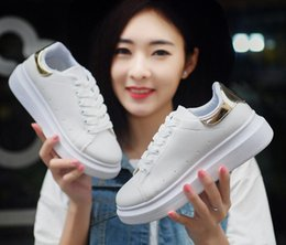 women's Casual shoes Woman Flats Spring Large Female Ballet Shoes Metal Round Toe Solid Casual Shoes
