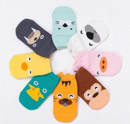 Spring Summer Infant Non-slip Socks Baby Socks Kids Cartoon Animal Ankle Socks Girls Boys Cotton Room Children Socks6 11368