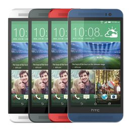 Wholesale 100 Refurbished HTC ONE E8 G Cell Phone Inch Snapdragon Quad Core G RAM G ROM Android6 Factory Unlocked Phone