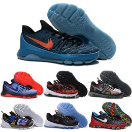 Wholesale Drop Shipping Basketball Shoes Men Cheap Durant VIII Sneakers High Quality New Men s KD8 Sports Shoes For Sale Size