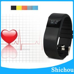 Wholesale TW64 Fitbit Flex Smartband Charge HR Activity Wristband Wireless Heart Rate Monitor Pulse OLED Display Sport Smart Band Bracelet TW