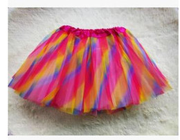 Women Girl Pretty Elastic Stretchy Tulle Teen 3 Layer Adult Tutu Skirt Ball Gown Tutu Skirt