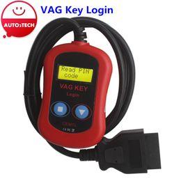Wholesale New VAG Key Login machine VAG pin code reader included coverage of EDC16 MED9 EDC17 MED17
