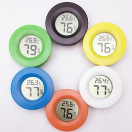 Mini digital LCD temperature instruments measuring temperature gauge Humidity Meter