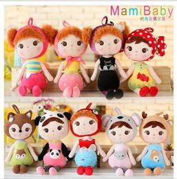 Wholesale New Children s Metoo Plush Dolls Kids girls Boys lovely stuffed bunny rabbits toys babies Cartoon gifts