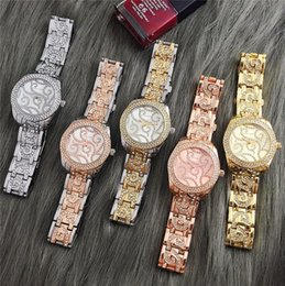 Wholesale MICHAELl Luxury Brand Watches Womens Diamonds Watches Bracelet Ladies Designer Wristwatches Colors