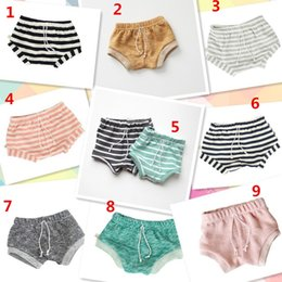 9 color Newest INS Kids PP pants baby toddlers boy's girl's ins stripe pants shorts Leggings children clothes