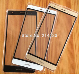 Outer Glass Lens Replacement for Huawei Ascend Mate 7   Mate 8  Mate S Touchscreen Outer Screen Glass Cover with free shipping