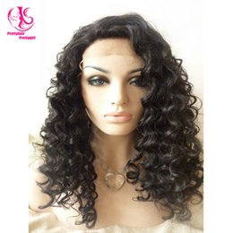 Very popular heat resistant black wig Synthetic Lace Front Wig High Quality Classic loose Wave Synthetic Wig