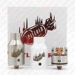 Compra Online Cobre vaporizador mod-Vaporizador de carga útil RDA Clon Reconstruible goteo atomizadores Copper Center Publicar PEEK aislante de acero inoxidable de 22 mm Fit Box 510 Mods libre de DHL
