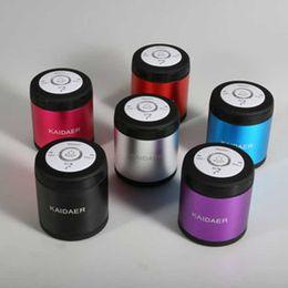 Wholesale 1PCS Mini Bluetooth Speaker Card Portable Bluetooth mini speaker TF MP3 USB FM Player Stereo Phone hands free