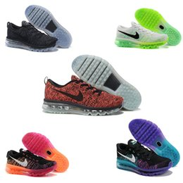 2016 Shoes Run Air Max 2016 Nike Flyknit Air Max Premium Men's Women's Running Shoes,Wholesale Original Quality Nike Airmax Maxes Sports Sneakers 010294
