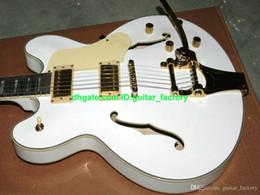 NUEVA guitarra eléctrica de la cortina doble del G 6136 con el sistema del trémolo con el envío libre del color desde guitarra corte envío libre fabricantes