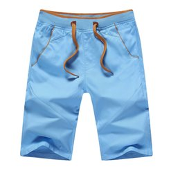 Wholesale-2016 Newest Summer Casual Shorts Men cotton Fashion Style Mens Shorts bermuda 4 Colors Plus Size M-5XL sport short For Male