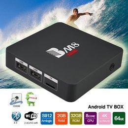 Wholesale Amlogic S912 TV Box BM8 PRO Android6 Bit Ouad Core mini pc GB GB KODI17 Dual Wifi BT4 Best Streaming Media Player