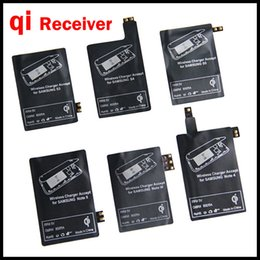 Universal Qi Wireless Charger Receiver Charging Receptor Pad Coil Adapter For Samsung Galaxy S5 S3 S4 NOTE 4 NOTE 3