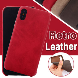 Luxury Retro PU British Business Leather Pattern Shockproof Protective Soft Ultra Slim Phone Case Cover For iPhone XS Max XR X 8 7 6 6S Plus