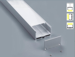 Wholesale Cost M Aluminum Channel for LED strip installation Aluminum Profile with Cover End Caps Mounting Clips