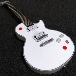 Wholesale Custom Kill Switch Buckethead Alpine White Cibson Standard New Version Electric Guitars