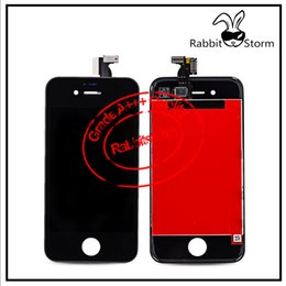 Wholesale For IPhone S LCD Display Touch Screen Panels Digitizer full Assembly With Good Box White or Black Without Home button