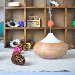 Wholesale New Changing Color Ultrasonic Humidifier Essential Oil Diffuser Aroma Lamp Aromatherapy Electric Aroma Diffuser Mist Maker GX K