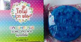 Wholesale New OMO White Plus Acid Blue Soap Speed Whitening Faster Clear Dark spot Skin best price