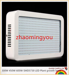 YON 1pcs High Power 300W 450W 600W SMD5730 Epistar Led Grow Light Lamps For Flowering Plants Hydroponic System Grow Bloom grow tent