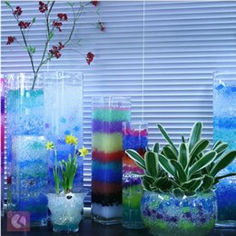 Wholesale Growing Water Balls Particles Per Bag Colorful Plant Cultivation Water Beads Hydrogel Gel Crystal Soil