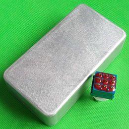 2PCS 1590B Aluminum Effects Guitar Pedal Stomp Box And Foot Pedal Switch Effect Pedal BOX Switch