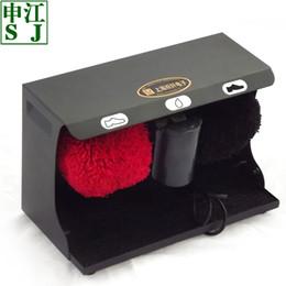 shoe polish machine Sj c005 shell household new arrival big mini automatic induction shoe polisher