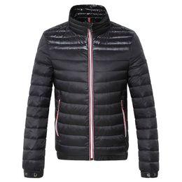 Wholesale M115 Mon Brand anorak men spring autumn jacket men thin Jacket Winter Best Quality Warm Plus Size Man Down and parka anorak jacket
