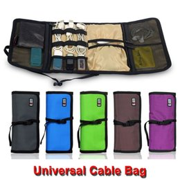 Wholesale BUBM CJB L Roll UP Electronics Accessories Case Storage Travel Organizer Hard Drive Bag Cable Stable Baby Healthcare Kit