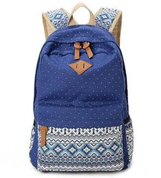 2017 большие отпечатки на холсте 2016 моды Подростки Девушки Schoolbag большой емкости дамы Холст печати Школьные Рюкзак Рюкзак Bagpack Симпатичные сумки дешевый большие отпечатки на холсте