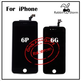 Wholesale For iPhone G Plus LCD Display Best AAA quality Complete Full Assembly with Touch Screen Digitizer and Frame Replacements Free DHL Shipping