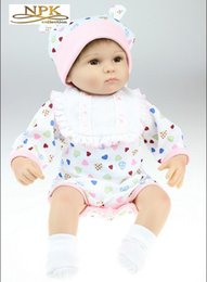 Wholesale Artificial Doll Quality Baby Soft Silica Gel Cloth Body Toy Beautiful Gift For Lover Or Kids Old People Or Friends Or Relatives