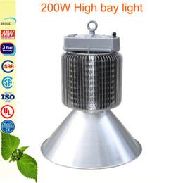 100w 150w 200w high bay light workshop warehouse Exhibition hall led lighting Fin heat dissipation Meanwell driver UL SAA CE bridgelux45mil