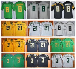 Wholesale 2016 New Cheap Oregon Ducks Jersey Marcus Mariota Vernon Adam Jr Royce Freeman Jersey Authentic College Football jerseys