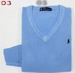 Wholesale spring new style men s casual cashmere pullover island sweaters high quality men long sleeve V neck sweater