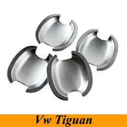 2014 Volkswagen Vw Tiguan Door Handle Bowl Cover Trim Chrome Exterior Door Handle Bowl for 2010- 2014 Vw Tiguan Car Accessories